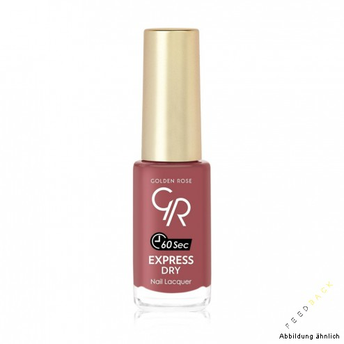 GOLDEN ROSE Express Dry 60 Sek. Nail Lacquer 35