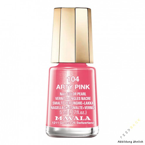 MAVALA MINI COLOR Arty Pink #104