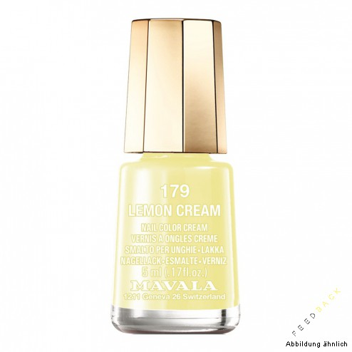 MAVALA MINI COLOR Lemon Cream #179