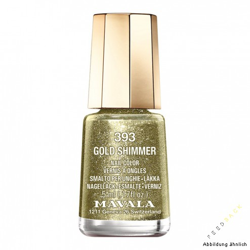 MAVALA MINI COLOR Gold Shimmer #393