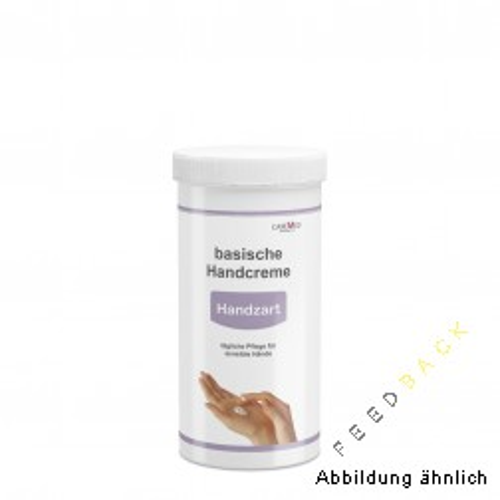 Basische Handcreme 450 ml Handzart pH 8,0 Austauschdose